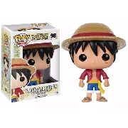 One Piece - Boneco Monkey D. Luffy Pop Animation Funko 10cms