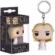 Kit Chaveiro Game Of Thrones Pocket Pop Funko Jon Daenerys
