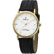 Relógio Champion Feminino De Couro / Dourado Ch22260m