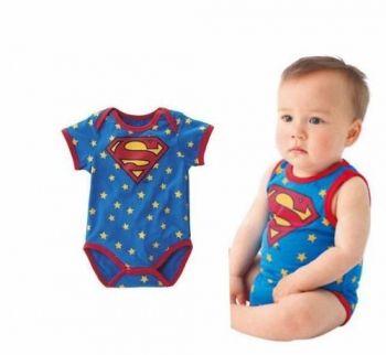 Macacão Fantasia Body Superman Super Homem