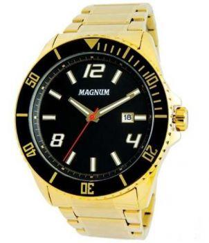 Relógio Magnum Masculino Ma33077u Ouro Garantia Dourado