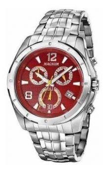 Relógio Magnum Masculino Cronógrafo Ma33488v Prata Original