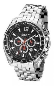 Relógio Magnum Masculino Prata Analógico Ma33586t Original