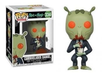 Rick And Morty Boneco Pop Funko Cornvelious Daniel #334