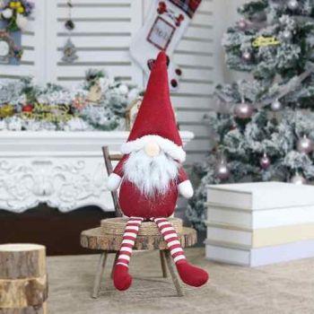 Boneco De Natal Papai Noel Bom Velhinho Plush Decoração