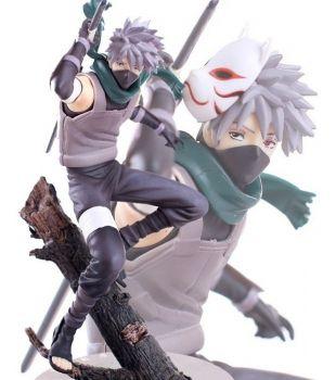 Action Figure Kakashi Hatake Esquadrão Anbu Naruto Gem Serie