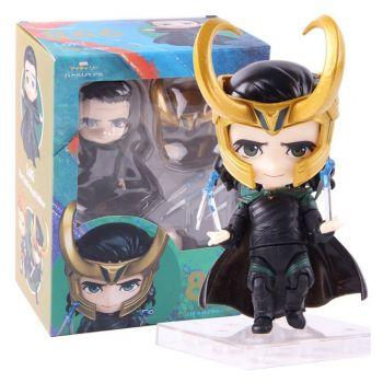 Action Figure Loki Nendoroid Estilo Funko Pop Boneco Estátua