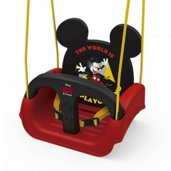Balanço Infantil Mickey Minnie Com Encosto E Cinto 19798 - Xalingo