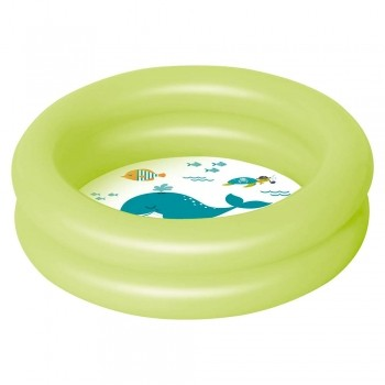 Piscina Inflável Bebê Circular 28l Mor + Adesivo Reparo Para Praia