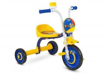 TRICICLO MOTOCA INFANTIL NATHOR VELOTROL YOU 3 BOY/GIRL ARO 5