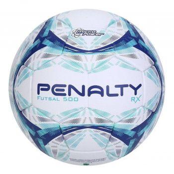 Bola De Futsal Penalty Rx R1 500 Ix Branco E Azul