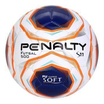 Bola De Futsal Penalty S11 R2 X - Branco E Azul