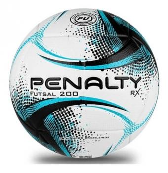 Bola Futsal Penalty Rx 200 Xxi Azul E Preta