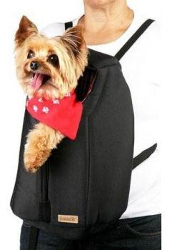 Bolsa Colinho Para Transporte Cachorros Cães Mochila Canguru Tamanho M