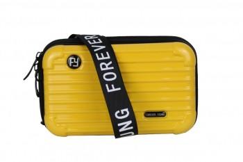 Bolsa Moda Mini Bag Forever Transversal Rígida Blogueira