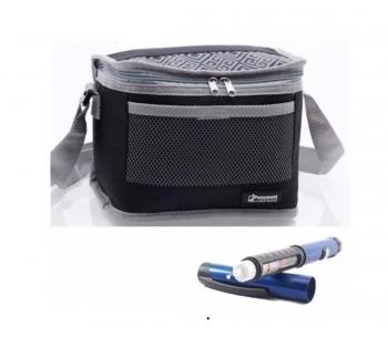 Bolsa Térmica Cooler 5 Litros Pequena Para Remédios Insulina