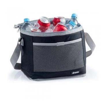 Bolsa Térmica Preta 10 Litros Cooler Bebidas Academia Camping Marmita Reforçado