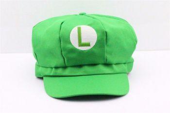 Boné Mario Bros Boina Luigi Chapéu Cosplay SNES
