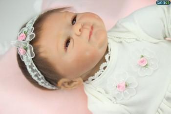 Boneca Bebê Reborn Realista Menina Linda Pronta Entrega