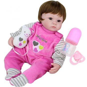 Boneca Laura Baby Nurse - Bebe Reborn - DUPL