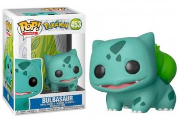 Boneco Funko Pop 453 Bulbasaur Pokemon Bulbassauro