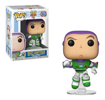Boneco Funko Pop Buzz Lightyear #523 Disney Toy Story 4