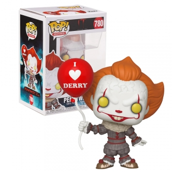 Boneco Funko Pop Pennywise #780 With Balloon - It A Coisa 2