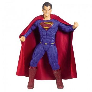 Boneco Super Homem Superman Liga Da Justica 50cm Mimo