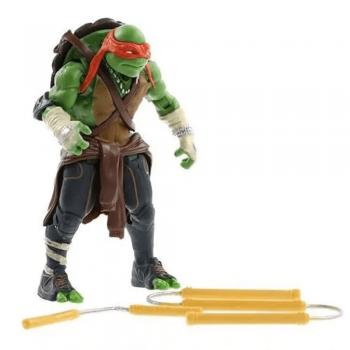 Bonecos Articulados Tartarugas Ninjas Leonardo, Michelangelo, Rafael e Donatello Unitário