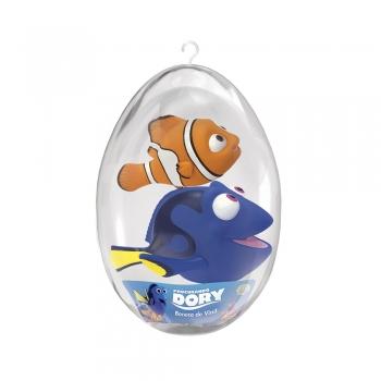 Bonecos Nemo E Dory No Ovo Grande 34cm - Líder Brinquedos