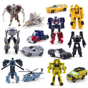 Bonecos Transformers Kit C/ 7 Personagens A Pronta Entrega