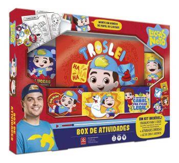 Box De Atividades Luccas Neto Com 5 Jogos - Copag Original