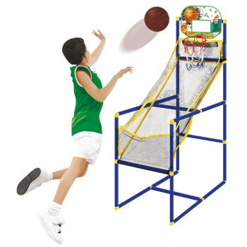Brinquedo Basquete Infantil Mega Sport  C/2  Bolas -Toyng 42701