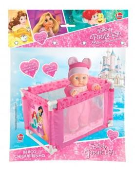 Brinquedo Bercinho Chiqueirinho Princesas Disney Frozen