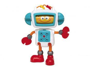 Brinquedo De Atividades Boneco Roby Robô Infantil Fala Frase Elka