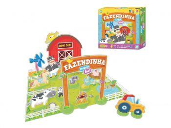 Brinquedo Fazendinha Mundo Bita 42 Peças Em Madeira Nig