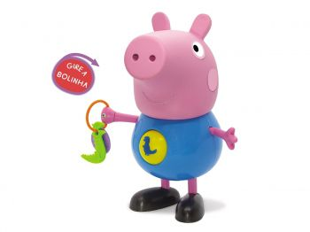 Brinquedo George Atividades Peppa Pig Atividades Com George Elka