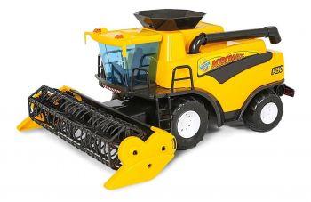 Brinquedo Infantil Colheitadeira Fazendeiro Amarelo Poliplac