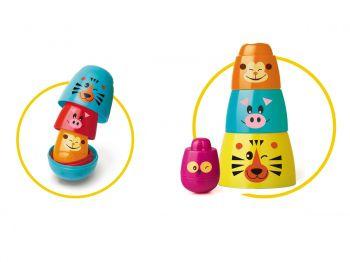 Brinquedo Infantil Para Bebe Matrioska Animais Original Elka