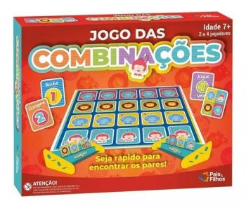 Brinquedo Jogo Das Combinações Pais E Filhos Promoção