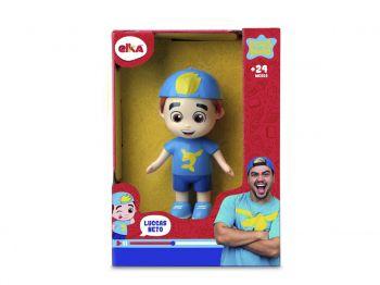 Brinquedo Mini Boneco Luccas Neto Aventureiro Azul Elka 1125