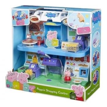 Brinquedo Peppa Pig Playset Supermercado Shopping Center