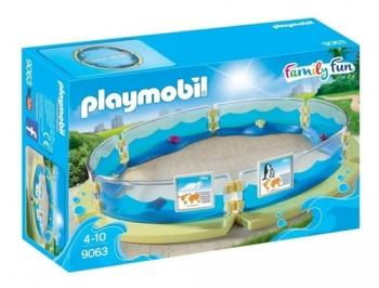 Brinquedo Playmobil Cercado Para Aquário Cenario 9063 Sunny