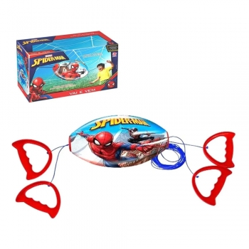 Brinquedo Vai E Vem Spiderman Homem Aranha Menino 2 Jogadores