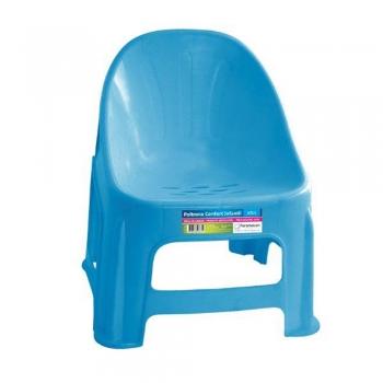 Cadeira Poltrona Plástica Infantil Cadeirinha Bebê Resistente Cores