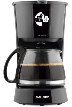 Cafeteira Elétrica Star Wars Mallory 16 Xícaras Em Inox 110V