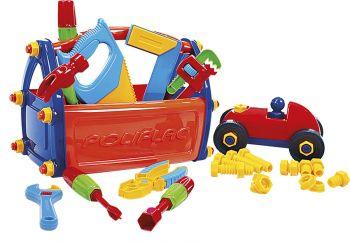 Caixa Maleta De Ferramentas Infantil Didatica Brinquedo
