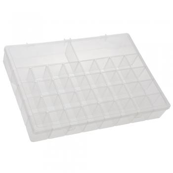 Caixa Organizadora Grande Box Multiuso Com Divisórias