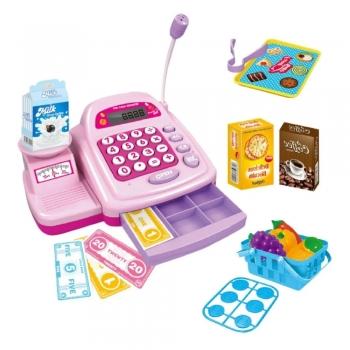 Caixa Registradora Infantil C/ Acessórios Luz Som Brinquedo