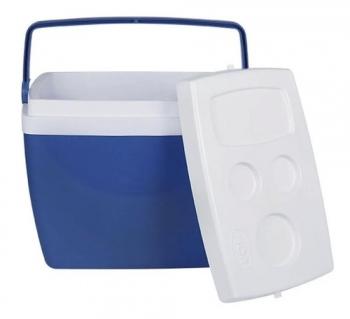 Caixa Térmica Cooler 26 Litros Cores Com Alça Mor